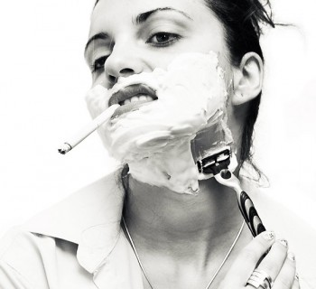manly_woman_shaving_portrait_by_adrian_costea