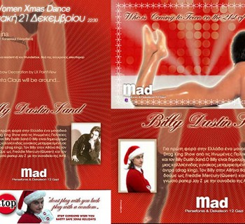 Xmas Drag King Party @ Mad Club by Cyberdykes