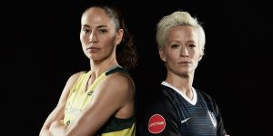 Sue Bird and Megan Rapinoe