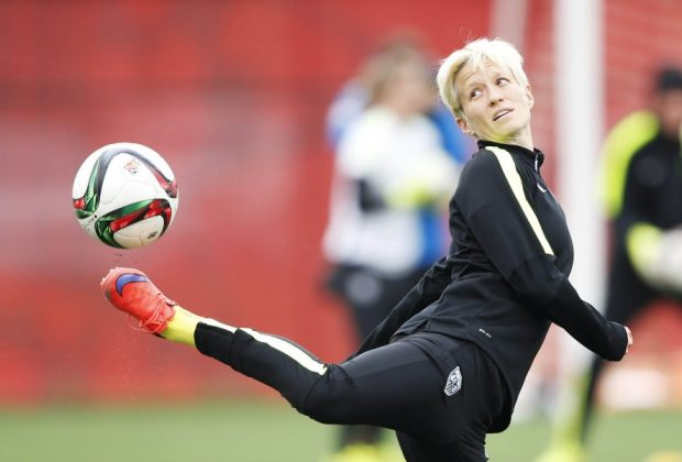Soccer: Women's World Cup-U.S. Team Practice