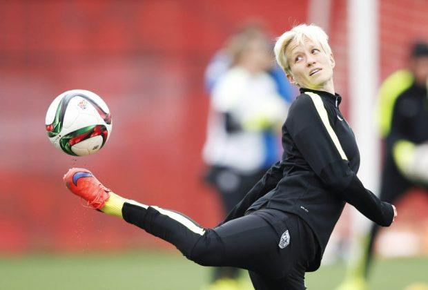 Soccer: Women's World Cup-U.S. Team Practice